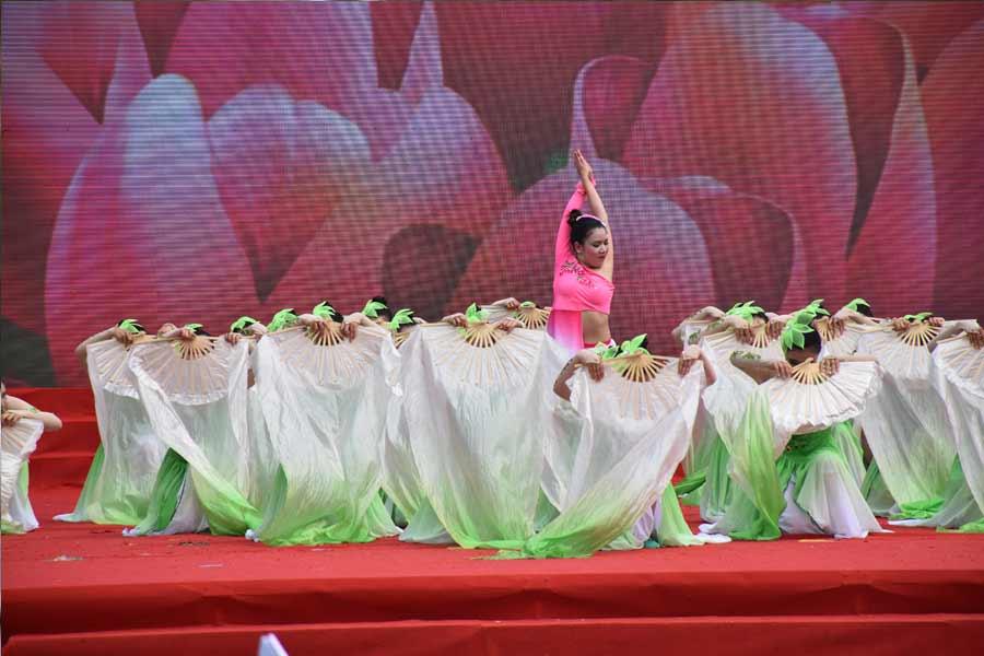 舞蹈《茶韵》